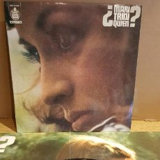 Vinyl-Schallplatten - MARI TRINI / ¿ QUIEN ? LP-HISPAVOX - 1974 / MBC. ***/*** - 151985690