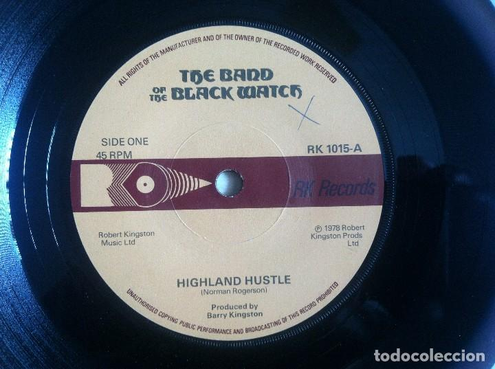THE BAND OF THE BLACK WATCH - HIGHLAND HUSTLE / HACKLE RED - SINGLE 1978 - RK RECORDS (Música - Discos - Singles Vinilo - Funk, Soul y Black Music)