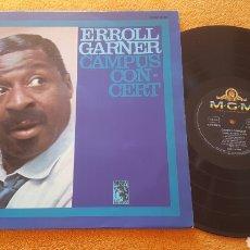 Discos de vinilo: ERROLL GARNER CAMPUS CONCERT LP GERMANY. Lote 151994997