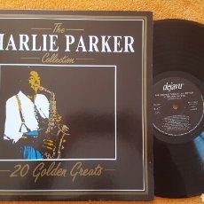Discos de vinilo: CHARLIE PARKER THE COLLECTION LP ITALY. Lote 151995444