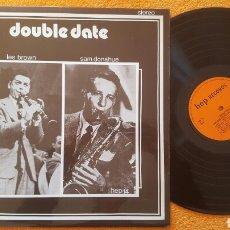 Discos de vinilo: LES BROWN / SAM DONAHUE - DOUBLE DATE LP UK. Lote 151995957