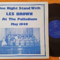 Discos de vinilo: LES BROWN AT THE PALLADIUM 1949 LP. Lote 151996348