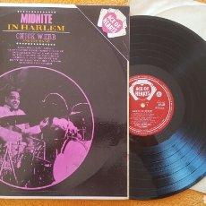 Discos de vinilo: CHICK WEBB MIDNITE IN HARLEM LP MONO 1962. Lote 151996917