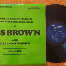 Discos de vinilo: LES BROWN 1946 -1950 UK LP. Lote 151998050