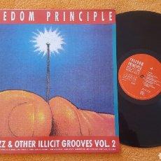 Discos de vinilo: FREEDOM PRINCIPLE VARIOUS ACID JAZZ LP. Lote 152003954