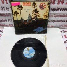 Discos de vinilo: EAGLES HOTEL CALIFORNIA LP VINILO. Lote 152005385