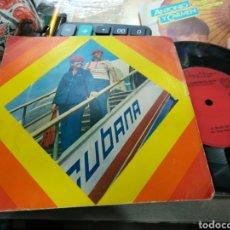 Discos de vinilo: GRUPO MONCADA / GRUPO MANGUARE SINGLE PROMOCIONAL CUBA. Lote 152007682