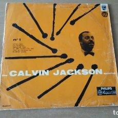 Discos de vinilo: LP CALVIN JACKSON QUARTET N° 1 LOTUS LAND PHILIPS AÑO 1955 FRANCE . Lote 152008982