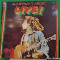 Discos de vinilo: LP BOB MARLEY AND THE WAILERS - LIVE!. Lote 152010078