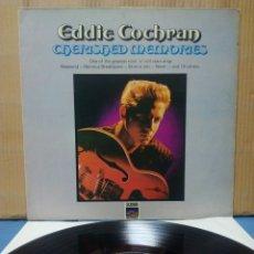 Discos de vinilo: EDDIE COCHRAN - CHERISHED MEMORIES 197X UK. Lote 152013021