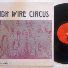 Discos de vinilo: THE INTERNATIONAL BAND - HIGH WIRE CIRCUS - LP UK 1980 - MUSIC DE WOLFE . Lote 152013034