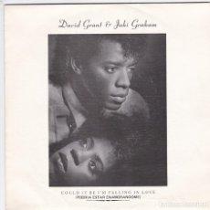 Discos de vinilo: DAVID GRANT AND JAKI GRAHAN,COULD IT ME I´M FALLING IN LOVE PROMO DEL 85. Lote 152013618