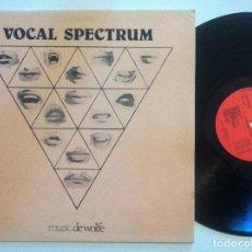 Discos de vinilo: CLEARWOOD ENSEMBLE - VOCAL SPECTRUM - LP 1976 - MUSIC DE WOLFE - SCAT VOCAL LIBRARY. Lote 152015238