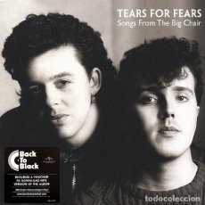 Discos de vinilo: LP TEARS FOR FEARS ‎– SONGS FROM THE BIG CHAIR . Lote 152015698