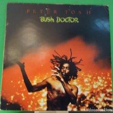 Discos de vinilo: LP PETER TOSH – BUSH DOCTOR . Lote 152025670