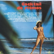 Discos de vinilo: LP COCKTAIL DE RITMOS-VARIOS. Lote 152027230