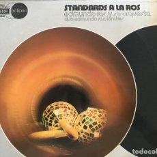 Discos de vinilo: LP STANDARDS A LA ROS-VARIOS. Lote 152028390