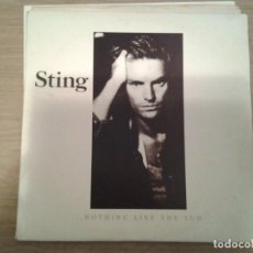 Discos de vinilo: STING -NOTHING LIKE THE SUN - DOBLE LP AM RECORDS 1987 ED. ESPAÑOLA 833817 MUY BUENAS CONDICIONES. . Lote 152028582