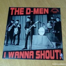 Discos de vinilo: THE D-MEN - I WANNA SHOUT!(LP 2014, BREAK-A-WAY BREAK 039) PRECINTADO. Lote 194937253
