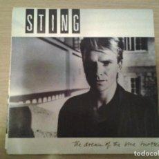 Discos de vinilo: STING - THE DREAM OF THE BLUE TURTLES - LP AM RECORDS 1985 ED. ESPAÑOLA 393750 BUENAS CONDICIONES. . Lote 152029786
