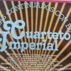 Discos de vinilo: LP CUARTETO IMPERIAL-LOS CONTINUADOS-VARIOS. Lote 152030194