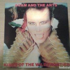 Discos de vinilo: ADAM AND THE ANTS -KINGS OF THE WILD FRONTIER -LP CBS 1981 ED. ESPAÑOLA S 84549 MUY BUENAS CONDICION. Lote 152030586