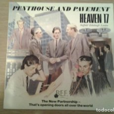 Discos de vinilo: HEAVEN 17 -PENTHOUSE AND PAVEMENT - LP VIRGIN 1981 ED. ESPAÑOLA I -204-017 MUY BUENAS CONDICIONES. . Lote 152031806