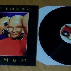 Discos de vinilo: KRAFTWERK - MINIMUM (LP REEDICIÓN, VINILO COLOR TRANSLÚCIDO) NUEVO. Lote 221835831