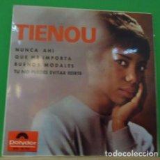 Discos de vinilo: EP 7'' TIENOU - NUNCA AHÍ +3 . Lote 152034110