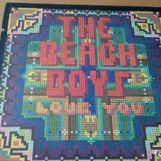 Discos de vinilo: THE BEACH BOYS LOVE YOU LP 1977 U.S.A CON INSERTO. Lote 152035634