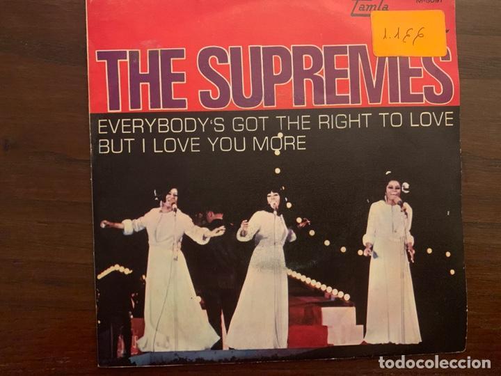 Discos de vinilo: The Supremes ?– Everybody's Got The Right To Love / But I Love You More Sello: Tamla Motown ?– M-509 - Foto 2 - 152035838