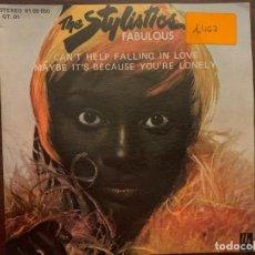Discos de vinilo: THE STYLISTICS ?– FABULOUS SELLO: H & L RECORDS ?– 61 05 050 FORMATO: VINYL, 7 SINGLE, 45 RPM, PROMO. Lote 152036726