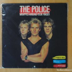 Discos de vinilo: THE POLICE - WRAPPED AROUND YOUR FINGER - MAXI. Lote 152037053