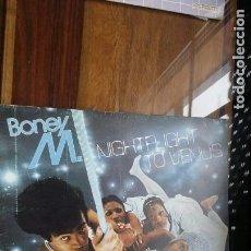 Disques de vinyle: BONEY M. NIGHTFLIGHT TO VENUS. Lote 152039046