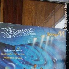 Disques de vinyle: BONEY M. TEN THOUSAND LIGHTYEARS. Lote 152039510