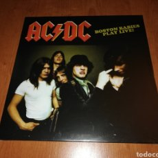 Discos de vinilo: VINILO DE AC DC BOSTON BABIES PLAY LIVE!. Lote 152040357