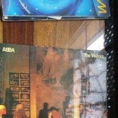 Discos de vinilo: ABBA THE VISITORS CONTIENE DOS TEMAS EN ESPAÑOL. Lote 152040630