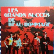 Discos de vinilo: LP LES GRANDS SUCCES DE BEAU DOMMAGE. Lote 152045394