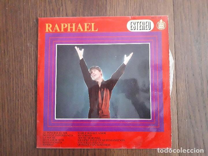 DISCO VINILO LP RAPHAEL. HISPAVOX HH 11-125 AÑO 1967 (Música - Discos - LP Vinilo - Solistas Españoles de los 50 y 60)