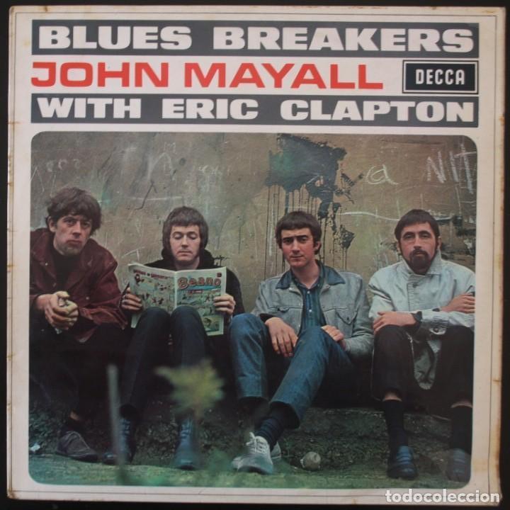 JOHN MAYALL BLUES BREAKERS CON ERIC CLAPTON (Música - Discos - LP Vinilo - Pop - Rock Extranjero de los 50 y 60)