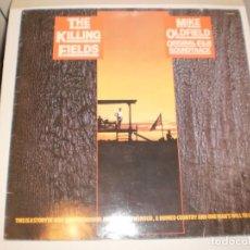 Discos de vinilo: LP MIKE OLDFIELD. THE KILLING FIELDS. VIRGIN 1984 SPAIN (DISCO PROBADO Y BIEN, BUEN ESTADO). Lote 152050154