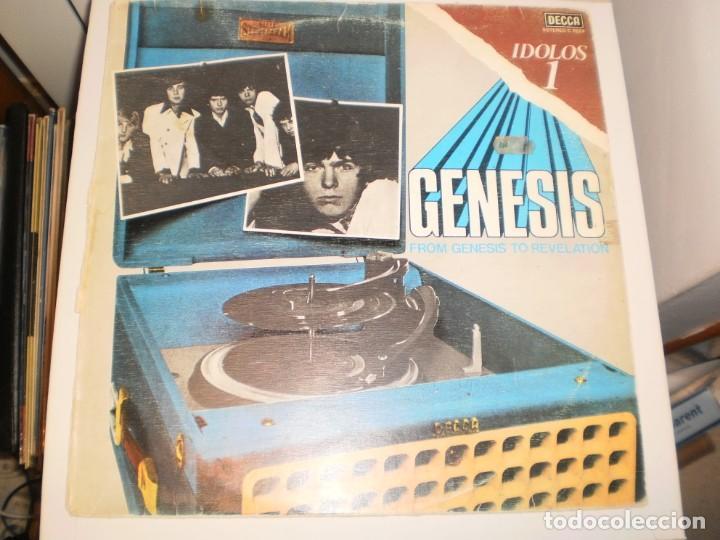 LP GENESIS, FROM GENESIS TO REVELATION. DECCA 1977 SPAIN (DISCO PROBADO Y BIEN) (Música - Discos - LP Vinilo - Pop - Rock - Extranjero de los 70)