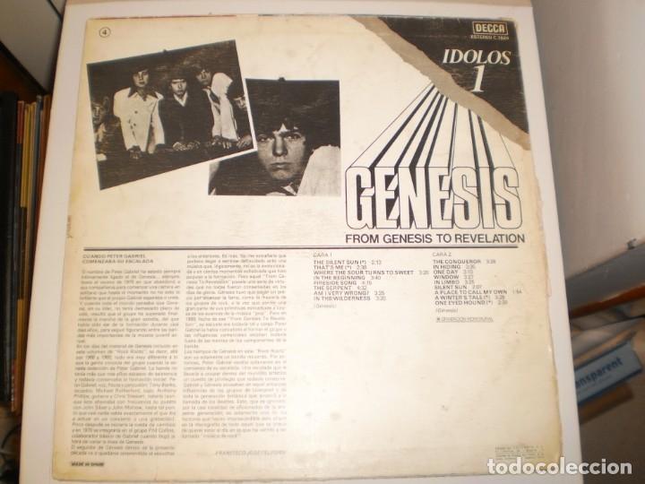 Discos de vinilo: lp genesis, from genesis to revelation. decca 1977 spain (disco probado y bien) - Foto 2 - 152050774