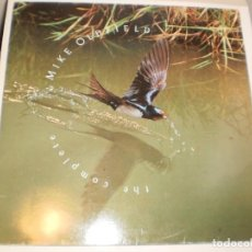 Discos de vinilo: LP DOBLE MIKE OLDFIELD. THE COMPLETE. VIRGIN 1985 SPAIN. (DISCOS PROBADOS Y BIEN, SEMINUEVOS). Lote 152058170