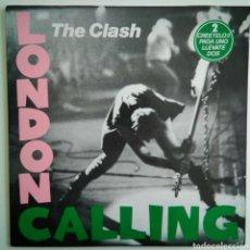 Discos de vinilo: THE CLASH - LONDON CALLING - CBS 460114 1 -DOBLE VINILO - ESPAÑA - 1989. Lote 151972406