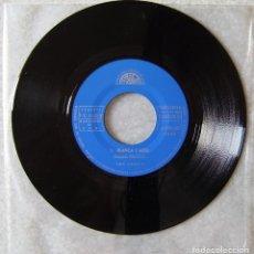 Discos de vinilo: LOS LORD´S.VOLVEREMOS-BLANCA Y AZUL..SOLO VINILO,SIN PORTADA..MUY RARO PROMO...EX+. Lote 152104578