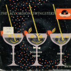 Discos de vinilo: THE ACCORDION SWINSTERS / DINAH - SWEET SUE Y OTRAS (EP 1959). Lote 152105630