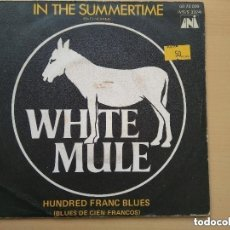 Discos de vinilo: WHITE MULE - IN THE SUMMERTIME (SG) 1970. Lote 152109410