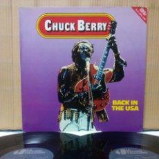 Discos de vinilo: CHUCK BERRY - BACK IN THE USA 2XLP GATEFOLD DK. Lote 152109949