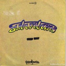 Discos de vinilo: SUBURBANO - BAILANDO BAJO LA MESA / LA VENTANA (SINGLE ESPAÑOL, GUIMBARDA 1979). Lote 152113690